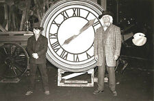 "Back to the Future 3 Marty & Doc Clock 1885 - 17"" x 22"" Movie Prop Print - 00214"