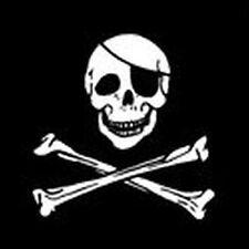 Drapeau pirate os / TETE de Mort / Corsaire / 145 cm X 90 cm