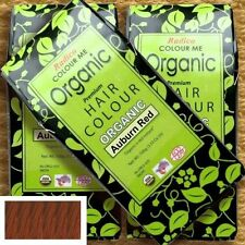 Radico Colour Me Organic Auburn Red Pflanzenhaarfarbe Kastanienrot 100g vegan