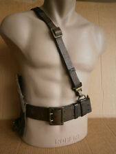 leather wide belt , Leather Case , German WW2 WWII lot set