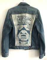 Levis Jeansjacke Last Gang in Town M Trucker Jacket vintage 80's 70500