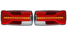 2 x LED NEON COMBINATION REAR LIGHTS DYNAMIC TAIL LAMPS TRUCK LORRY PICKUP VAN