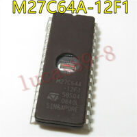 5PCS M27C64A-12F1 M27C64A IC EPROM UV 64KBIT 100NS DIP-28 ST