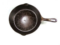 Vintage Unmarked Lodge Single Notch # 6 I Cast Iron 9 Inch Skillet Restored