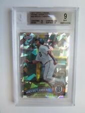 2011 Topps chrome atomic refractor  Miguel Cabrera (#048/225)   BGS 9