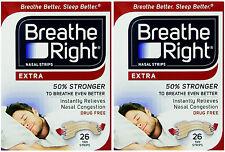 """Breathe Right EXTRA  """"50% stärker"""" 52 Nasenpflaster in hautfarben - besser atmen"""