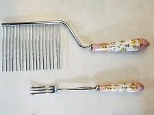 Vintage Floraine A E Lewis & Co. Sheffield England Stainless Steel