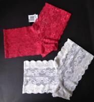 2-For-1 Low Price: Laced Bikini Panties by Biatta & Madison Intimates - Size S/M