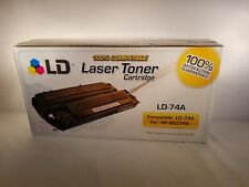LD Remanufactured Replacement for HP 74A / 92274A Black Toner Cartridge