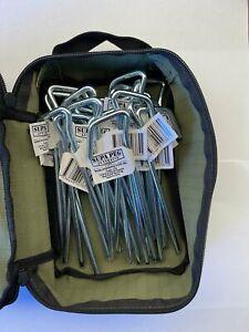 SupaPeg Tent Peg Kit with Canvas Storage Bag