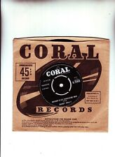 BUDDY HOLLY BROWN EYED HANDSOME MAN  CLASSIC 45 FROM 1963 RARE