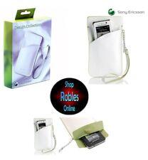 Sony Ericsson idc-21 Design Collection case Leather wall bolso original nuevo embalaje original