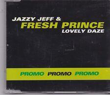 Jazzy Jeff&Fresh Prince-Lovely Daze promo cd maxi single 3 tracks