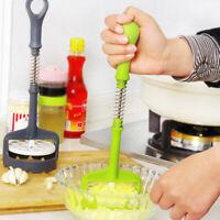 Potato Masher Vegetable Hand Tool Fruit Garlic Press Ricer Kitchen Gadget Tools