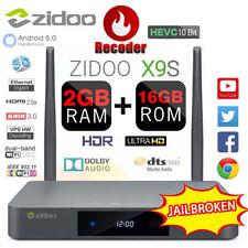 ZIDOO X9S Android 6.0 Realtek RTD1295 + Quad-Core OpenWRT WiFi Media Player