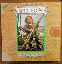 Willow (The Story of) Vinyl LP + BOOK • Soundtrack, 1988 George Lucas