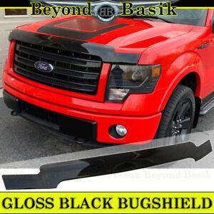 2009 2010 2011 2012 2013 2014 FORD F150 OE Style BLACK Bugshield Hood Deflector