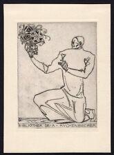 30)Nr.161- EXLIBRIS-  Sepp Frank, 1919