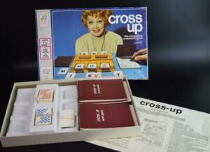 CROSS UP Vintage 1974 Crossword Game LUCILLE BALL (I Love Lucy) Cross-Up