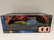 Hotwheels #G9752 1/18 Fernando Alonso Renault R25 #5 -100 GP Wins Bahrain 2005