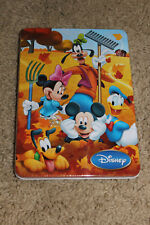 DISNEY'S COLLECTIBLE MICKEY & FRIENDS Fall BACK TO SCHOOL KIDS ACTIVITY TIN NEW