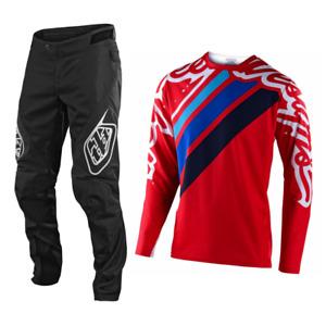 Troy Lee Designs Gear Combo Set Sprint Pants Jersey Bmx Mtb Dh Downhill Seca