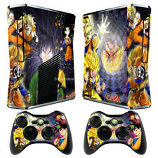 New Dragon Ball 86 Decal Sticker Cover For xbox360 slim Console&Controller Skins