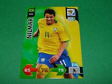 NILMAR BRASIL PANINI FOOTBALL FIFA WORLD CUP 2010 CARD ADRENALYN XL