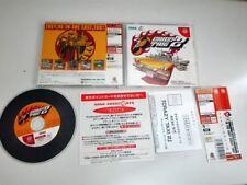 CRAZY TAXI 2 SEGA DREAMCAST JAPONES SPINE CARD
