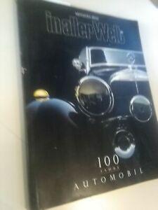 rivista mercedes benz-in aller welt-100 jahre automobil-1886 1986 daimler