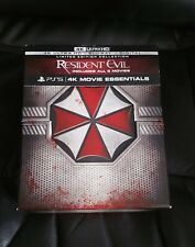 Resident Evil 4K Collection - 6 film set - 4K + Blu-Ray - **NO DIGITAL**