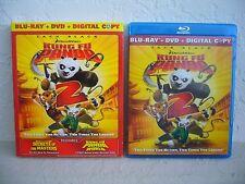 DreamWorks Kung Fu Panda 2: Blu-Ray, DVD & Digital Code (slipcover)
