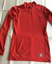 NIKE PRO-COMBAT BASE LAYER SIZE L 152-168cm  RED TOP BOY GIRL