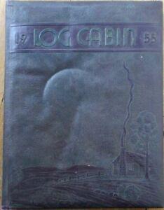 Bethel College/University 1955 Yearbook/Lg Cabin-Cumberland Theological Seminary