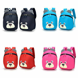 Kids Baby Toddler Walking Safety Harness Backpack Security Strap Bag With Reins