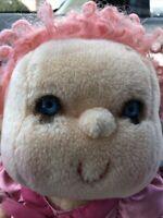 Vintage 1985 Huggins Plush Kenner Hugga Bunch Doll Blue Eyes Hallmark So Nice!