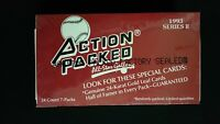 1993 Action Packed Baseball Series 2 Dealer Hobby Box Factory Sealed