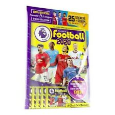 PANINI FOOTBALL 2020 PREMIER LEAGUE STARTER ALBUM/PACK SEALED INC 25 STICKERS