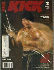 KICK Magazine January 1982 1/82 HIDY OCHIAI STORY