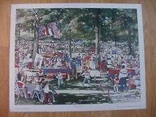 Ole Miss Rebels The Grove 16 X 20 Print-Signed by the Artist