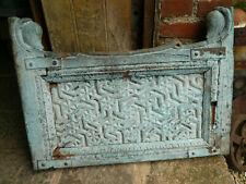 Ancien balcon de fenetre Indienne