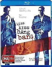KISS KISS BANG BANG BLU RAY - NEW & SEALED ROBERT DOWNEY JR (IRON MAN) KILMER