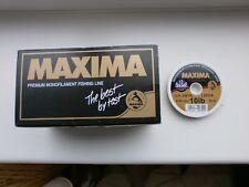1 x 50m Spool of Maxima Chameleon 10lb Leader Tippet
