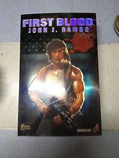 Hot Toys MMS 21 First Blood John J. Rambo Sylvester Stallone 12 inch Figure NEW