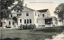 Illlinois postcard Ottawa, Club House of Ottawa Tent Colony 1908 t.b. treatment