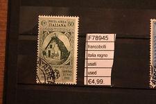 FRANCOBOLLI ITALIA REGNO USATI (F78945)