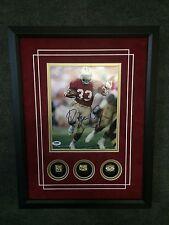 Roger Craig San Francisco 49ers Signed 8x10 PSA Commemorative Replica Rings