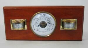 MID CENTURY VINTAGE RETRO WEATHERMASTER WEATHER STATION 1960s Barometer