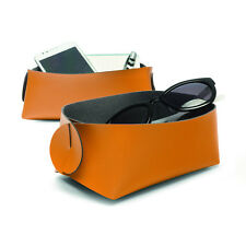Storage Set of 2 Basket Storage Tray Store jewellery accessories Stylish Tray