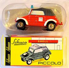 VW Coche CUBA BOMBERO 1:90 Schuco Piccolo 05252